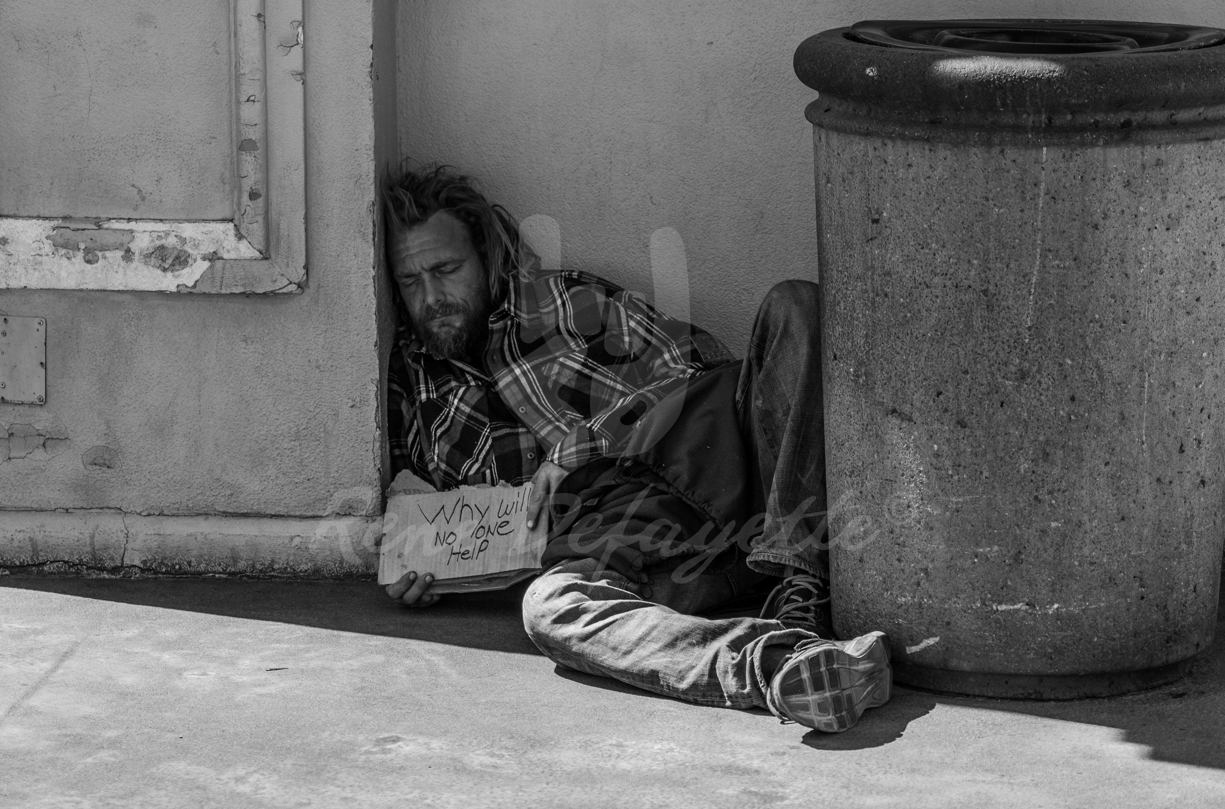 Photo Las Vegas Homeless Streetphotography T1 1040594